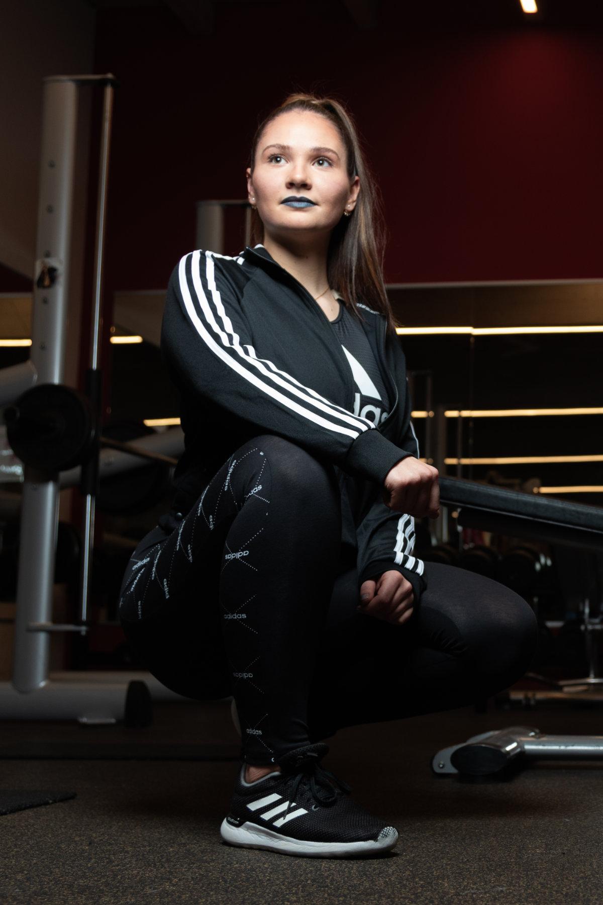 Trainerin Lena